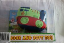 My First Thomas The Tank Engine And Friends Percy Soft Plush Toy & Book Set