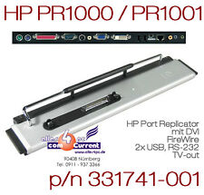 HP COMPAQ PORT REPLICATOR PRESARIO 1000 1500 2800 2801 2805 285289-001 PR1000 OK