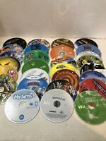 Nintendo Wii 28 Game Lot-Stratched/Untested