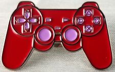 Sony Playstation Controller - Red Soft Enamel Pin