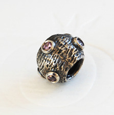 "Genuine Pandora Charm ""Pink Moonscape"" - 79160PCZ - retired"