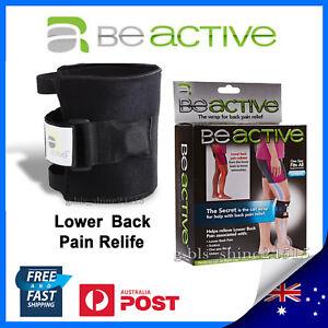 NEW Beactive Brace Support Leg Back Pain Relief Pad Nerve Sciatic Knee Hip Pain