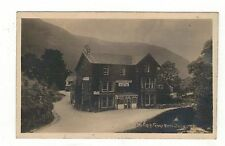 VICTORIA FAMILY HOTEL,BUTTERMERE .OLD  REAL PHOTO . POSTCARD