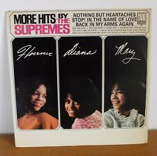 More hits by the supremes Stop in the name of love Motown 627 Made in USA