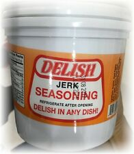 DELISH BAJAN JERK SEASONING.- 1 LITRE TUB - FREE SHIP!