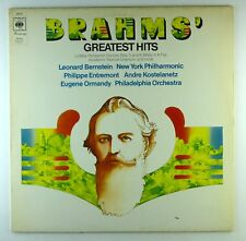 "12"" LP-Johannes Brahms-Brahms GREATEST HITS-e770-cleaned"