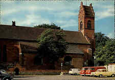 VIBORG Dänemark Danmark ~1960/70 Sdr. Sogn Kirke Kirche Autos VW Käfer u. Bully
