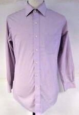 Brooks Brothers Men's Shirt Lavender Purple Button Front Size 16-2/3
