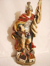 Heiliger Florian Schutzpatron der Feuerwehr 50cm !!! Statue Kirche Heiligenfigur