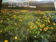 New Vintage Columbia River Gorge National Park Scenic area puzzle 1000 Guild