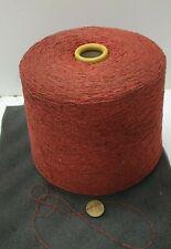 Wolle Garn Stricken weben  Bouclé rot effekt  seide l lhandstrickgarn 1kg s05