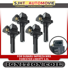 4x Ignition Coil Pack for Subaru Impreza WRX Forester Liberty Outback 01-08 2.0L