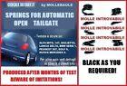 AUTOMATIC OPENING LIFT TRUNK BOOT KIT ALFA 147
