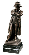 French Emperor Napoleon Bonaparte by Corbet Iron Sculpture Statue Reproduction