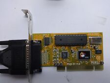 Siig PCI-1S1P (LP-P11011) PCI Adapter Card