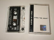 SYSTEM OF A DOWN - Steal This Album - MC cassette tape 2002/2753
