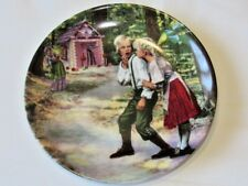 Konigszelt Bayern Hansel And Gretel Collectors plate VGC Free UK P&P