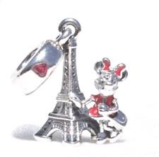 9fc819296f20 Disney Land París Torre Eiffel De Minnie Mouse de plata del encanto del  original Ganga