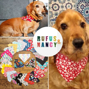 Puppy Bandana Dog Bandana Slide on Bandana Neckercheif Ideal Gift