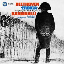 SINFONIE 3 EROICA (REMASTERED) - BARBIROLLI,SIR JOHN/BBC - BEETHOVEN  CD NEW!