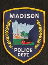 MADISON POLICE DEPT.POLICE EMBROIDERY PATCH--B03