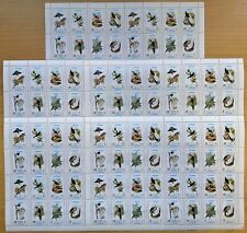 Y435. 5x Ajman - MNH - Animals - Birds - Full Sheet - Wholesale