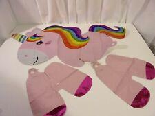 Unicorn Party Mylar Balloon Birthday Baby Shower Decoration Supplies