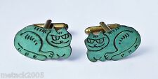 Brass Cufflinks without Stone for Men
