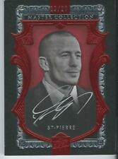 2016 UD All Time Greats Master Collection GEORGES ST-PIERRE GSP Autograph 19/20