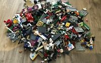 2.3 KG LEGO Bundle - Assortment of Bricks, Parts & Pieces + 8 Minifigures