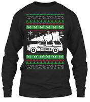 Sheriff Ugly Christmas Ltd. - Gildan Long Sleeve Tee T-Shirt