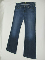 7 For All Mankind Dojo Jeans Flare Bell Bottom Women's Size 29 Distressed