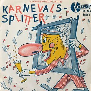 KARNEVALS-SPLITTER - Herrig / Weber / Lersch u.a. (EP Milerno 108)