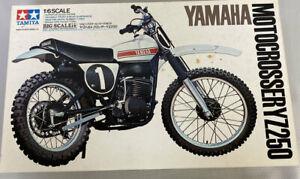 Tamiya 1/6 Big Scale Yamaha YZ250 Motocrosser Motorcycle Model Kit