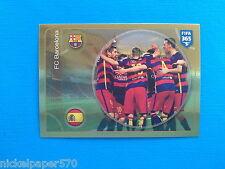 PANINI FIFA 365 2016-17 2017 n. 64 Team Barcelona