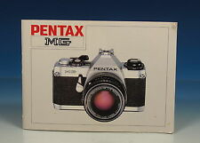 Pentax MG Bedienungsanleitung german manual - (91117)