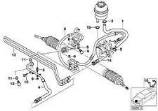 BMW Genuine E46 3 Series Power Steering Hose Reservoir to Oil Cooler 32416796390