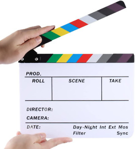 Neewe Director Film Clapboard Action Scene Computer Etched And Lossless Prints