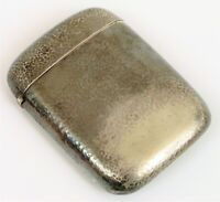 ART DECO HERBST WASSALL NEW YORK STERLING SILVER DOUBLE WHISKEY FLASK HAMMERED