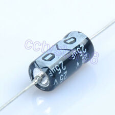 10pcs Axial Leaded Electrolytic Capacitor 25V 25uf for Audio Guitar Tube Amp New