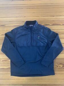 Bandon Dunes Golf Resort Preserve Peter Millar Wind 1/4 Zip Pullover Jacket L