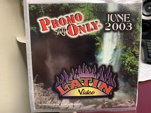 PROMO ONLY LATIN DVD JUNE 2003 VIDEO SERIES NEW