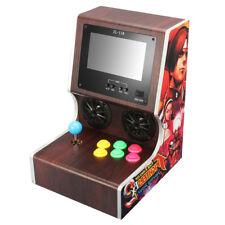 7'' LCD Screen Arcade Cabinet Mini Home Arcade Console Machine Retro Fight Games