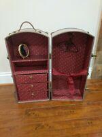 Pleasant Company American Girl doll  Samantha's Steamer Trunk Wardrobe case