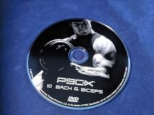P90X Replacement Dvd 10 Back and Biceps Single Disk Only