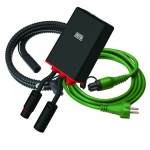 DEFA 450017 + 460785 Internal Stationary Battery Charger 1210 12V 10A 2,5m +1,5m