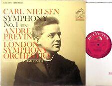 RCA WHITE DOG 1s/1s Nielsen PREVIN Symphony #1/Saul & David LSC-2961 EX+