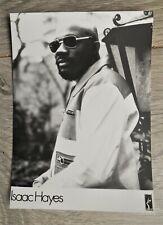 vintage 70s press foto of Soul/Funk legend ISAAC HAYES (Stax, Shaft, South Park)
