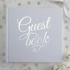 GINGER RAY BIANCA E ARGENTO sventato wedding guest book-METALLICA perfezione