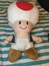 "Nintendo Super Mario Mushroom plush 2012 8"""